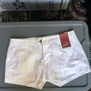 Brand new with tags! White juniors shorts